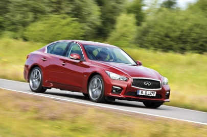 Infiniti, Jaguar, Mercedes