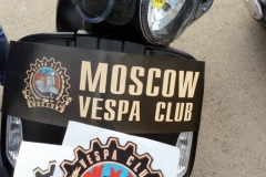 Motosiklet Vespa buluşması