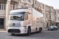 Mercedes'in elektrikli kamyonu bu yıl yollarda